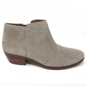 SAM EDELMAN | Petty Suede Ankle Boots Taupe 10W